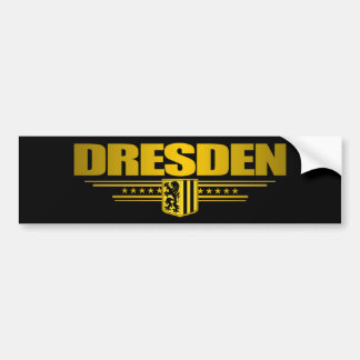 Dresden Bumper Sticker