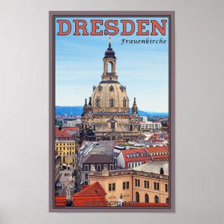 Dresden - Frauenkirche Poster