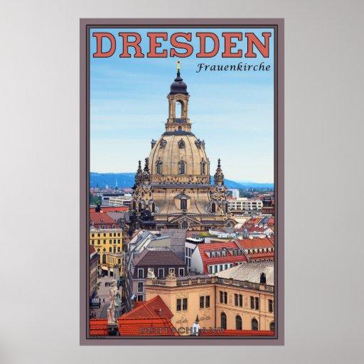 Dresden Frauenkirche Poster