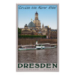 Dresden - On the Elbe Poster