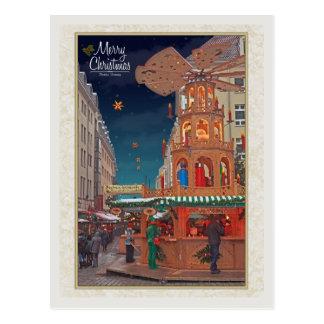 Dresden - Weihnachtspyramide - MC W Postcard