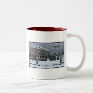 Dresden - Zwinger Palace Winter LS Two-Tone Mug