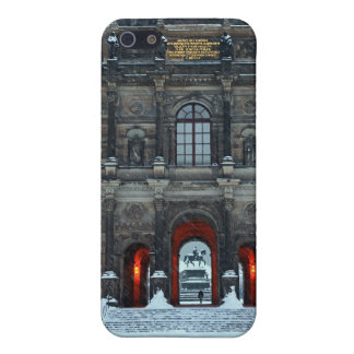 Dresden - Zwinger Palace Winter P iPhone 5 Cover