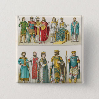 Dress at the Byzantine Court 15 Cm Square Badge