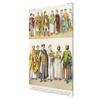 Dress at the Byzantine Court Canvas Print