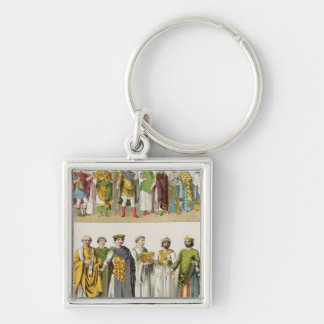Dress at the Byzantine Court Key Ring