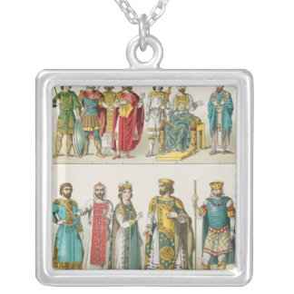 Dress at the Byzantine Court Silver Plated Necklace