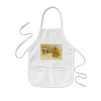 Dress code kids apron