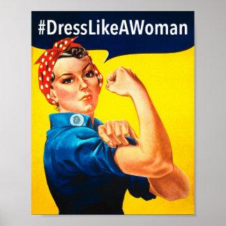 Dress Like a Woman Poster
