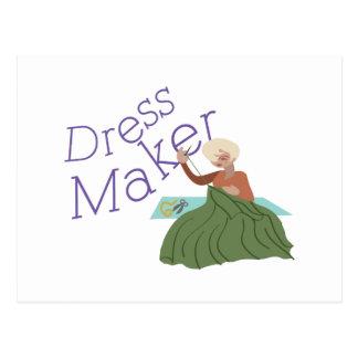 Dress Maker Postcard