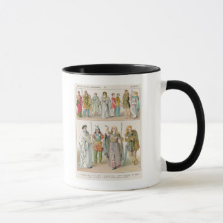 Dress of the Britons, Gauls and Germans Mug