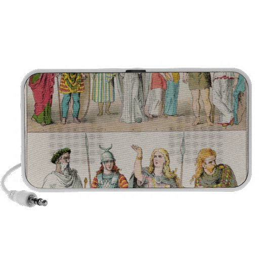 Dress of the Britons, Gauls and Germans Travel Speaker