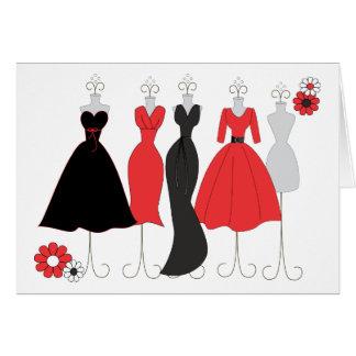 Dress Shop-Daisy Theme Greeting Card