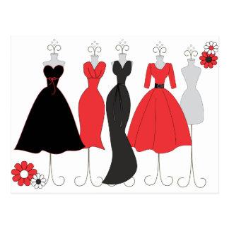 Dress Shop-Daisy Theme Postcard