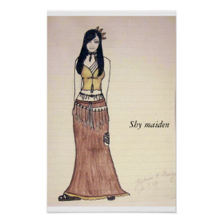 Dress the part, Shy maiden Poster