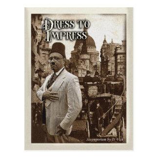 Dress To Impress Postcard