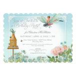 Dress Up Birthday Party Garden Fairy Bee Dragonfly 13 Cm X 18 Cm Invitation Card