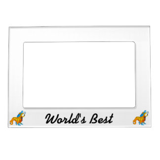 Dress Up Dragon.png Magnetic Photo Frame