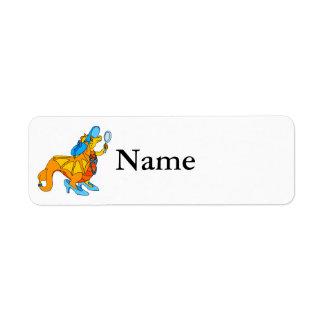 Dress Up Dragon.png Return Address Label