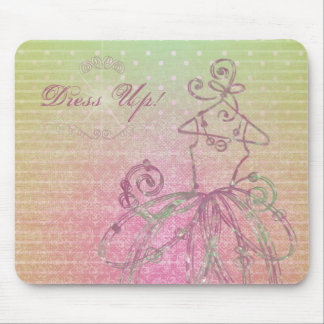 Dress Up Mousepad
