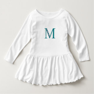 Dress with letter M