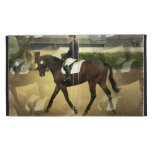 Dressage Competition iPad Cases