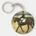 Dressage Competition Keychain