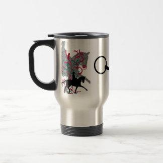 Dressage Elegance Travel Coffee Mug