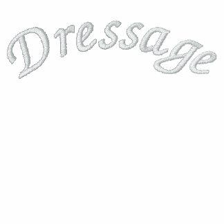 Dressage Embroidered Fleece Track Jacket