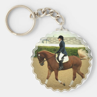 Dressage Extensions Keychain