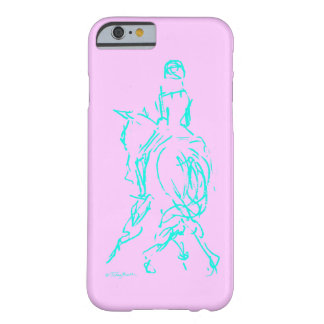 Dressage Half Pass Aqua phone case Barely There iPhone 6 Case