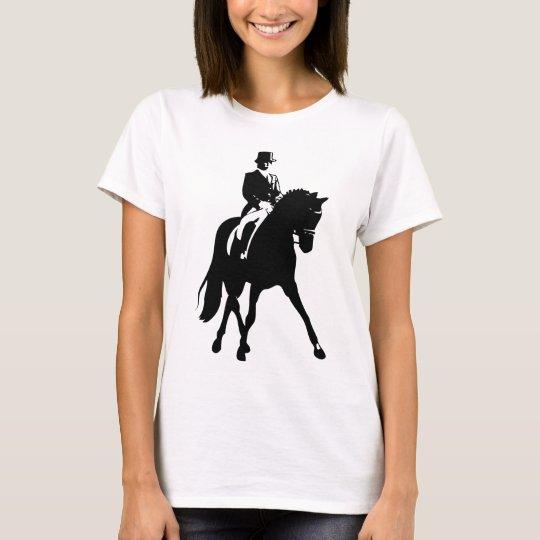 Dressage Half Pass Silhouette T-Shirt