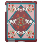 Dressage Hearts and Flowers Barley There IPad Case