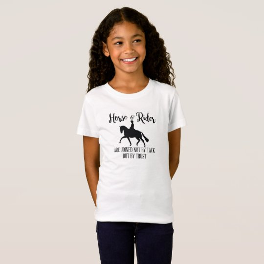 Dressage Horse and Rider Quote T-Shirt