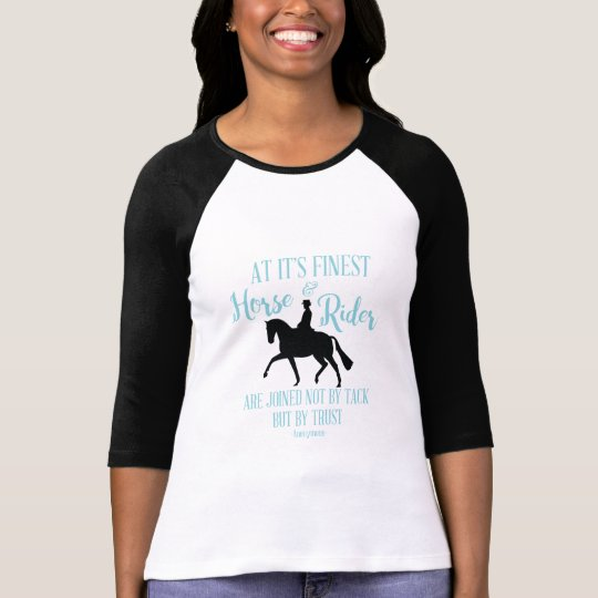 Dressage Horse and Rider T-shirt