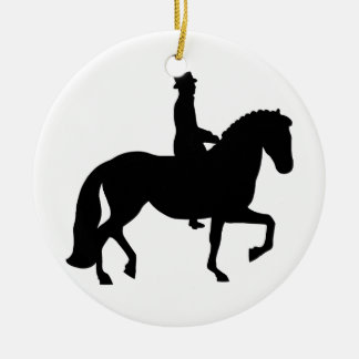 Dressage Horse Christmas Ornament