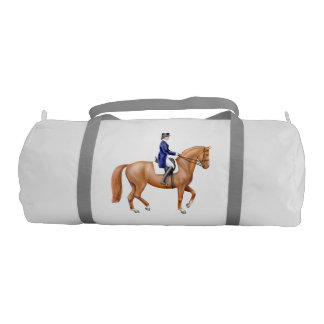 Dressage Horse Equestrian Duffle Bag
