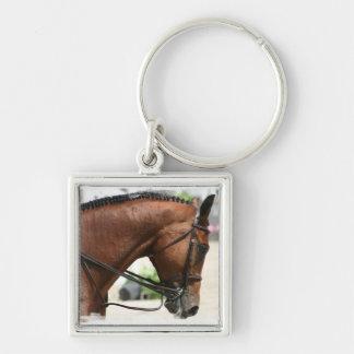 Dressage Horse Keychain