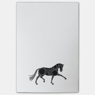 Dressage Horse Post-in brand notes Post-it® Notes