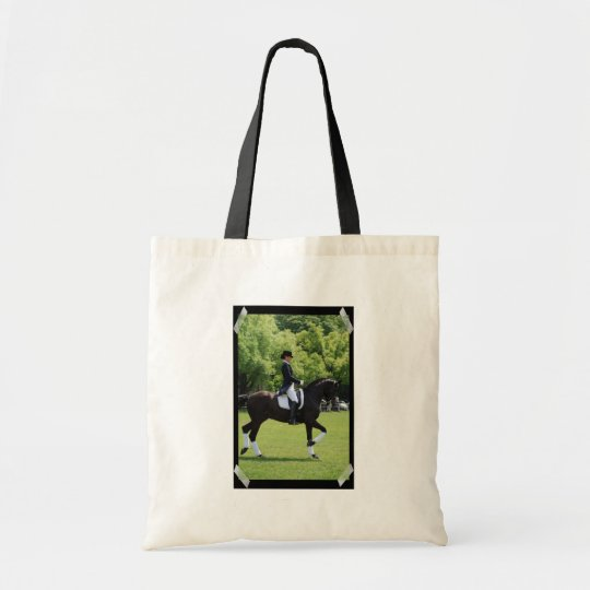 Dressage Horse Show Design Tote Bag
