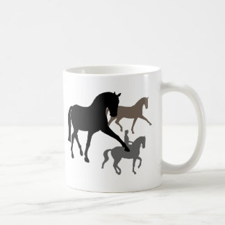 Dressage Horses Trio Mug
