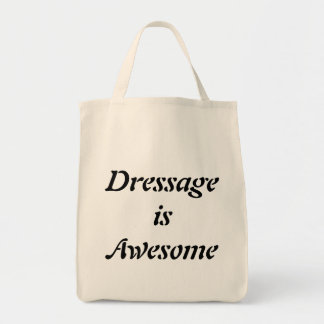 Dressage is Awesome Grocery Tote