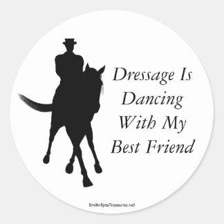 Dressage Is Dancing Best Friend Horse Sticker