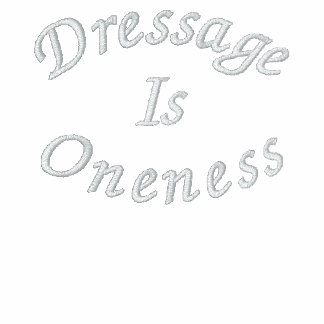 Dressage Is Oneness Embroidered Fleece Jacket
