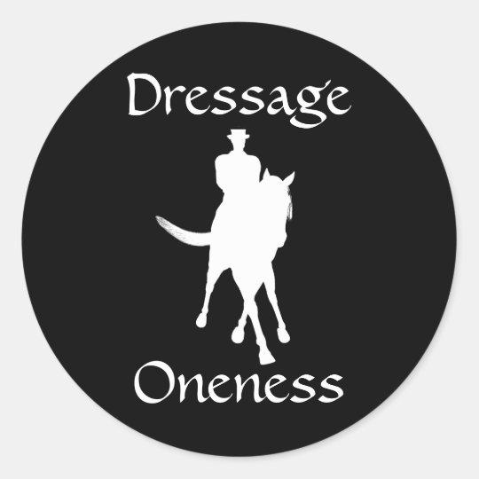 Dressage Is Oneness Sticker