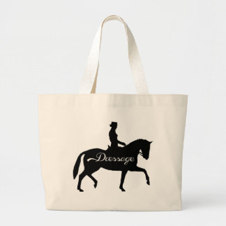 Dressage! Large Tote Bag