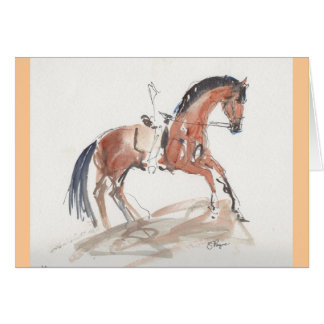 Dressage Note Card