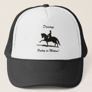 Dressage Poetry in Motion Trucker Hat