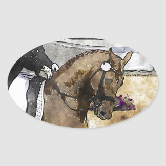 Dressage Rider Sticker