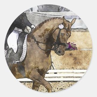 Dressage Rider Stickers